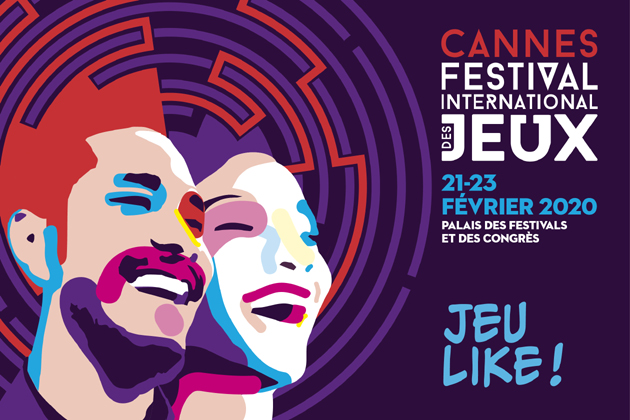 CANNES : Festival International des Jeux : Friday 21 February 2020 - Sunday 23 February 2020